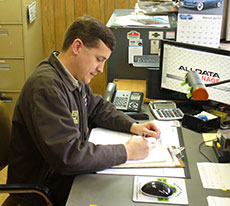 whitcrafts service writer picture - Service Writer